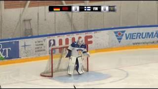 Tallenne GER-FIN naisten Euro Hockey Tourin ottelu // Vierumäki 14.12.2018