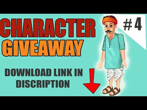 DOWNLOAD CARTOON ANIMATOR 4 CHARACTERS FREE - GIVEAWY - PART#4