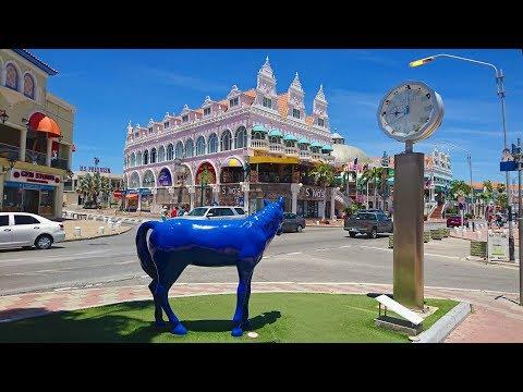 Oranjestad Aruba 4K