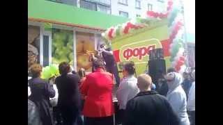 """Катя Бойко на открытии  """"ФОРЫ"""" в Нежине"""