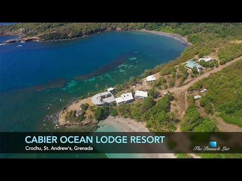 Cabier Ocean Lodge Resort - Crochu, St. Andrew's, Grenada - Caribbean - For Sale - $2,800,000