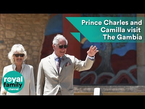 Prince Charles and Camilla visit The Gambia
