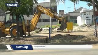 Теч на газ в Благоевград