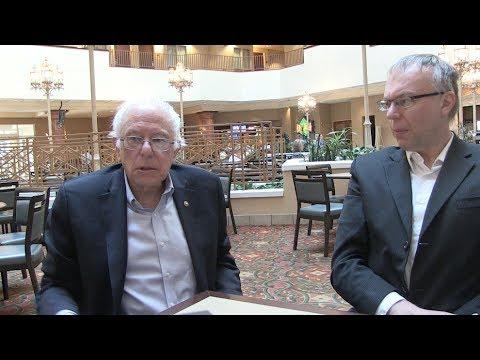 Bernie and Levi Sanders in WV