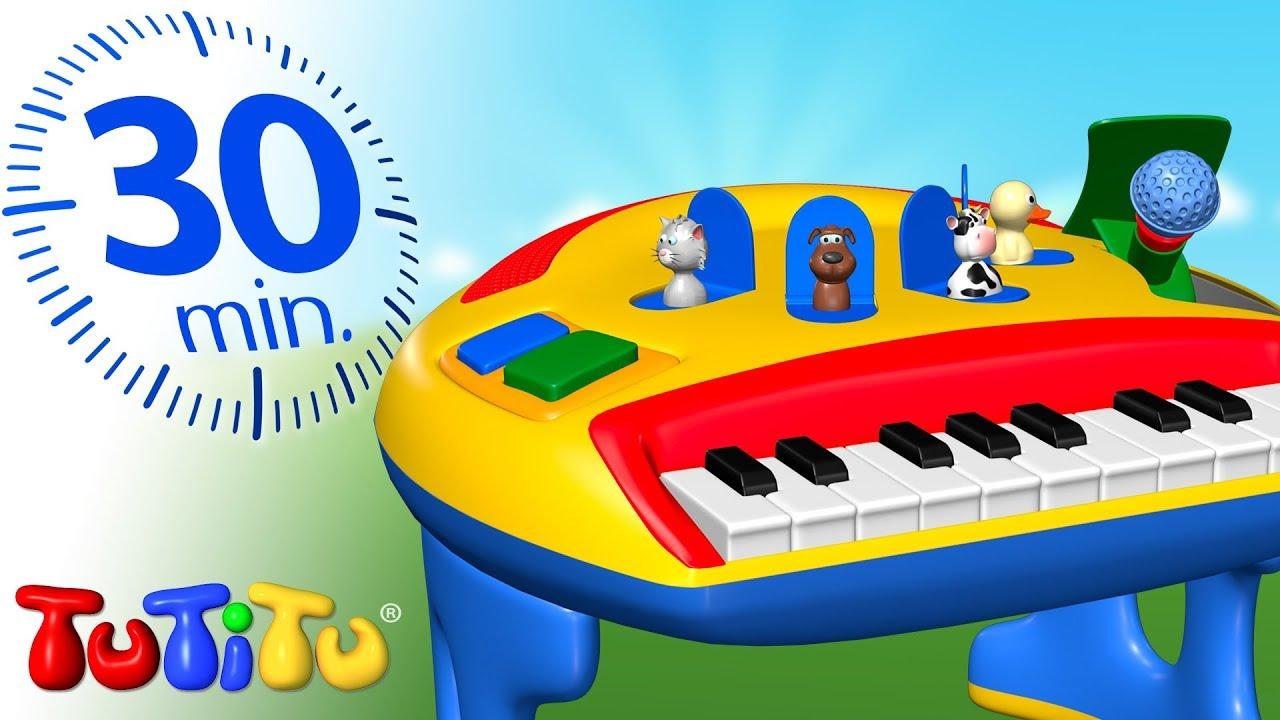 Детские игрушки | как играть на фортепиано игрушка пианино - Видео .