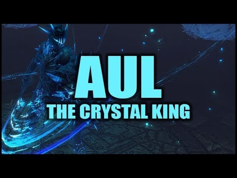 Path of Exile: AUL, The Crystal King - First Encounter - Delve Boss