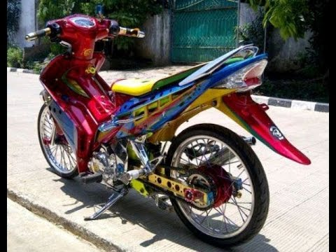 Motor Trend Modifikasi | Video Modifikasi Motor  Yamaha Jupiter  MX Airbrush Terbaru Part 2