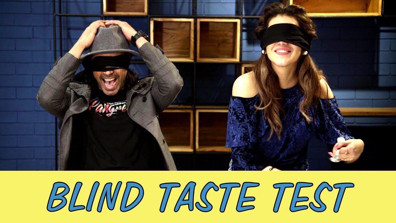 Blind Taste Test with Gohar Rasheed & Ghana Ali (Rangreza)   MangoBaaz