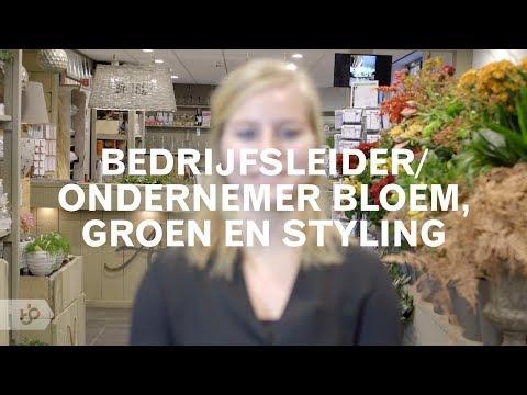 Praktijkleren: Bedrijfsleider/ondernemer bloem, groen en styling