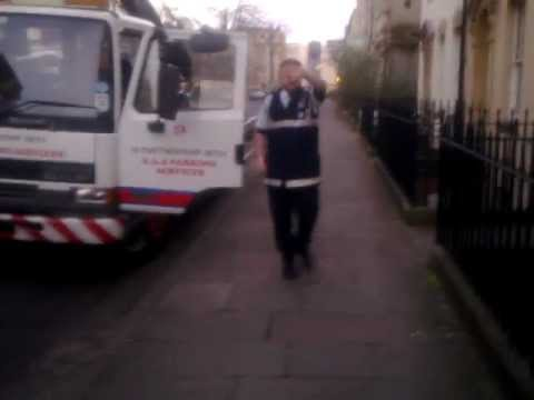 Civil Enforcement Officer thug: lying, abusive, threatening: Bristol City Council