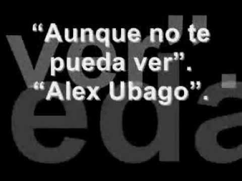 alex ubago aunque no te vuelva a ver