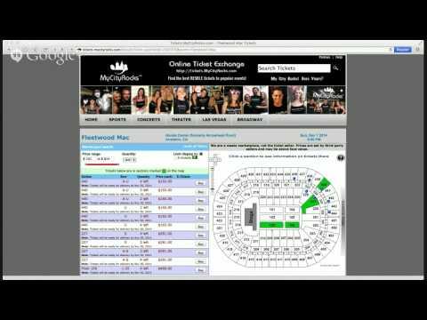 Fleetwood Mac Anaheim CA Tickets Honda Center Arrowhead Pond Concert
