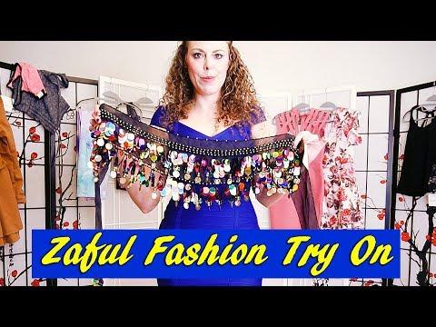 Live Try On Fashion Haul & Modeling ♥ Dresses, Leggings & More from Zaful! ASMR Soft Spoken