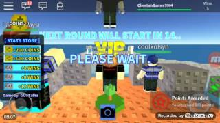 I HAD MY COINS THE WHOLE TIME | Roblox - Collab #1 w/ PRF GamerTron [SKYWARS]
