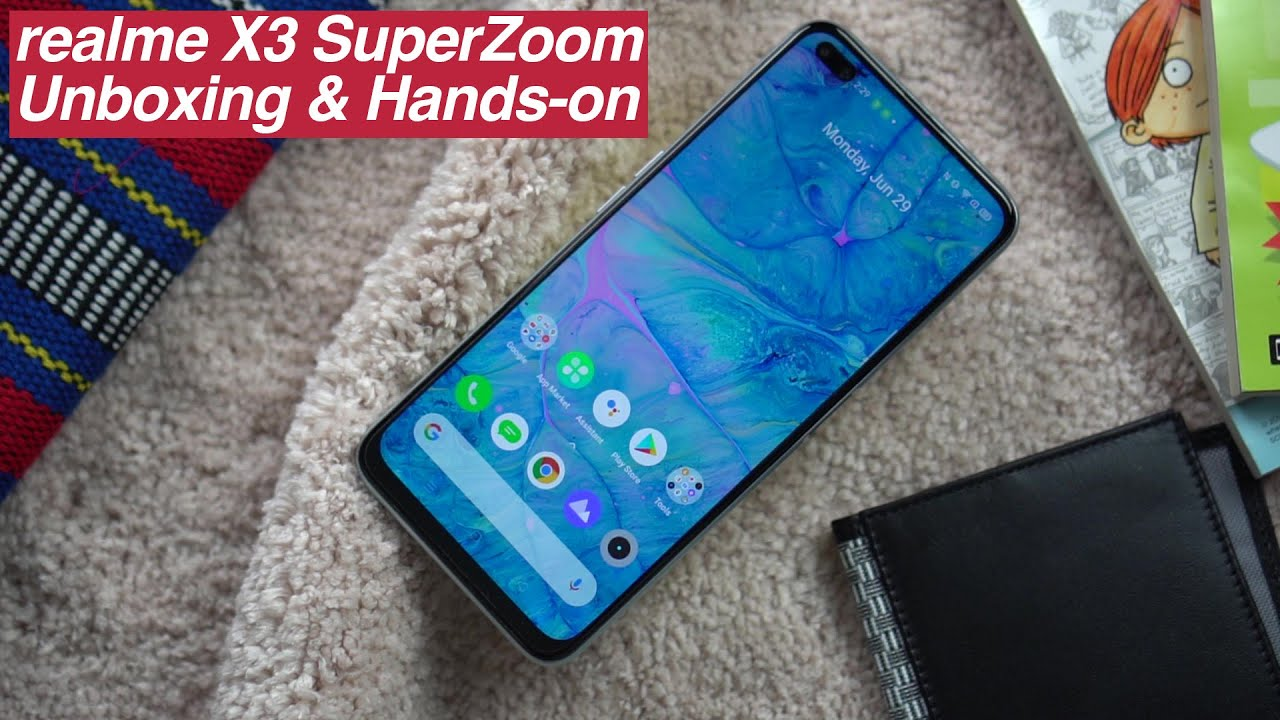 Realme X3 Superzoom Unboxing And Hands On Video Jam Online