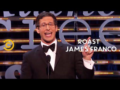 Roast of James Franco - Andy Samberg - The Roast Gets Dark - Uncensored
