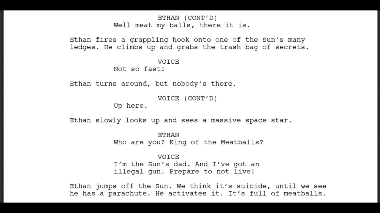 A Bot Created Mission Impossible Script