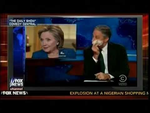 A Poor-Off - Hillary Clinton Vs Joe Biden - Jon Stewart - Special Report