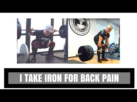 I Take Iron for Back Pain