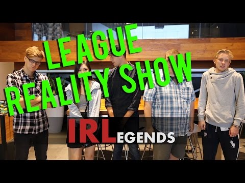IRLegends - A Riot Creator Lab 2.0 Project