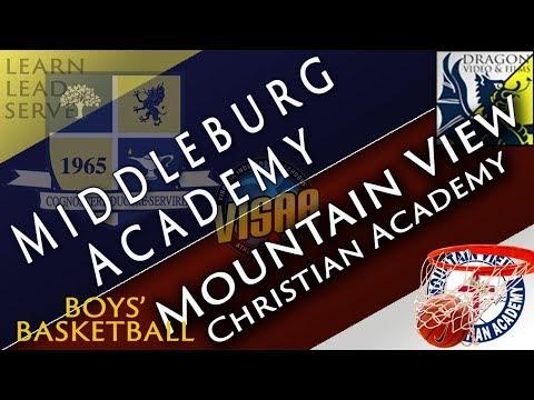 Boys' Basketball Hosts Mountain View Christian Academy