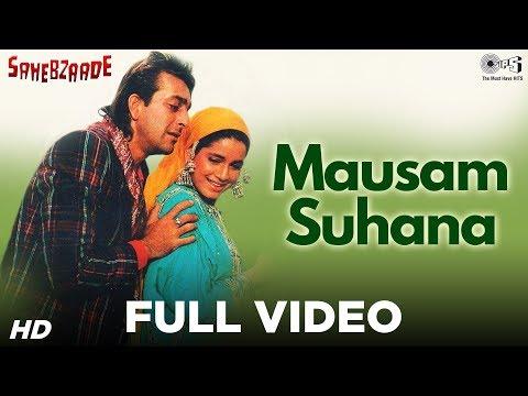 Mausam Suhana - Sahebzade - Neelam & Sanjay Dutt - Full Song