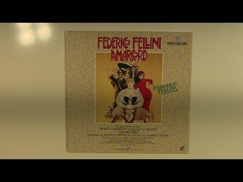 済 1,100 円 NJL-74015 Federico Fellini Amarcord フェリーニのアマルコルド レーザーディスク