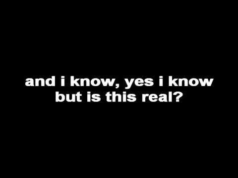 lisahall - is this real (lyrics)