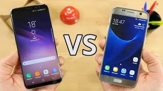 Samsung Galaxy S8 vs S7 : le duel