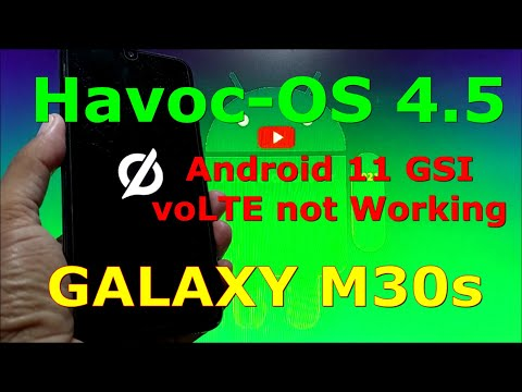 Havoc-OS v4.5 Official Android 11 GSI on Samsung Galaxy M30s
