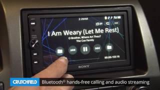 Sony Xav Ax100 Display And Controls Demo Crutchfield Video Youtube