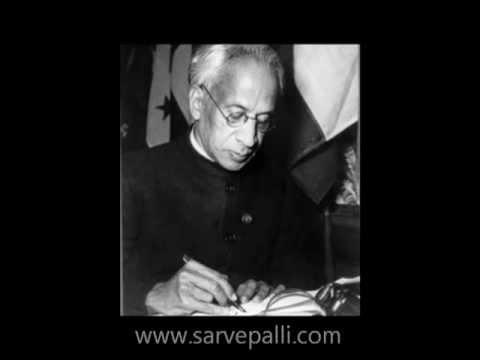Dr. Sarvepalli Radhakrishnan: Acharya Devo Bhava - YouTube