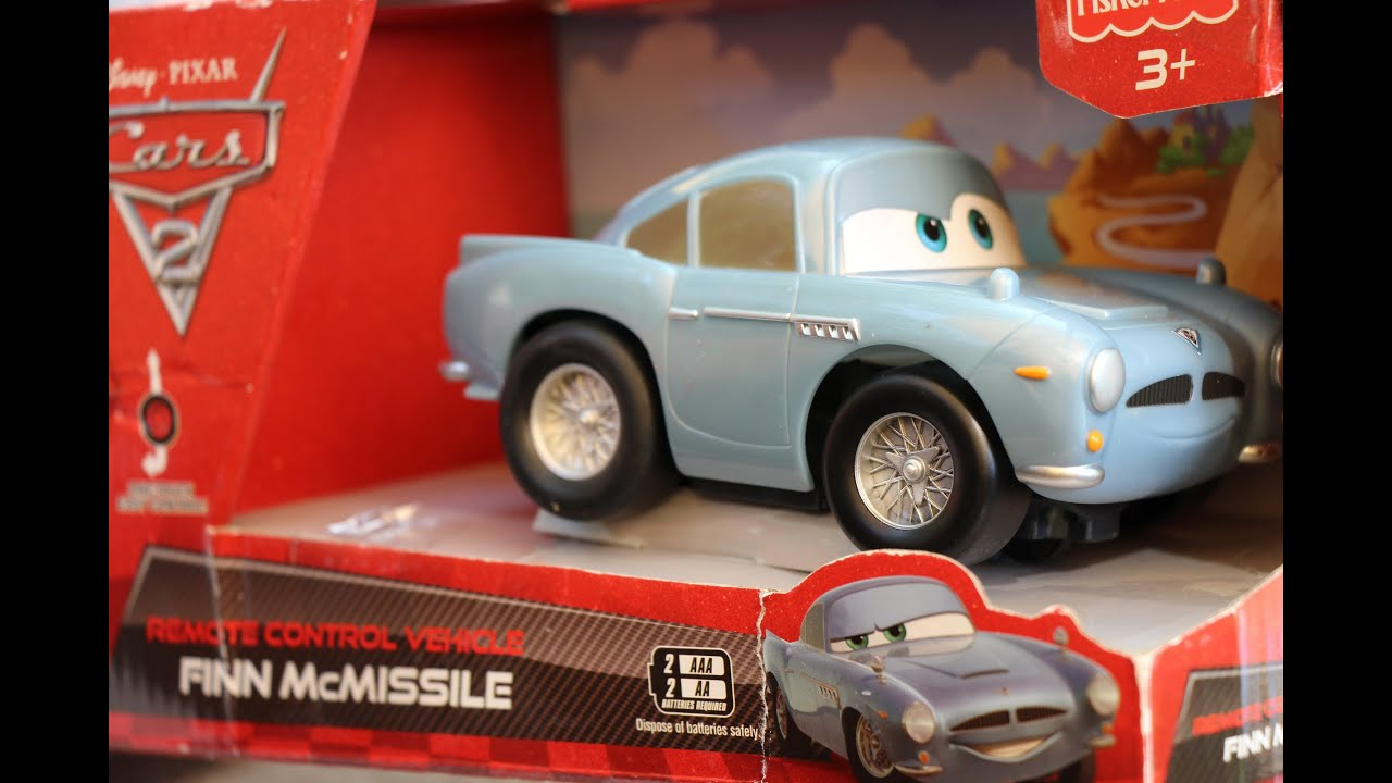 Remote control Finn McMissile Disney Pixar Cars 2 Fisher Price Age ...