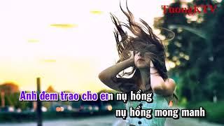 [Karaoke] Nụ Hồng Mong Manh - Bích Phương (Piano Version)