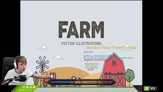 FARMA WARZYW I MOBÓW - Warcraft III: (Random Farm TD)