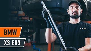 Vgradnja Blažilnik BMW X3 (E83): brezplačen video