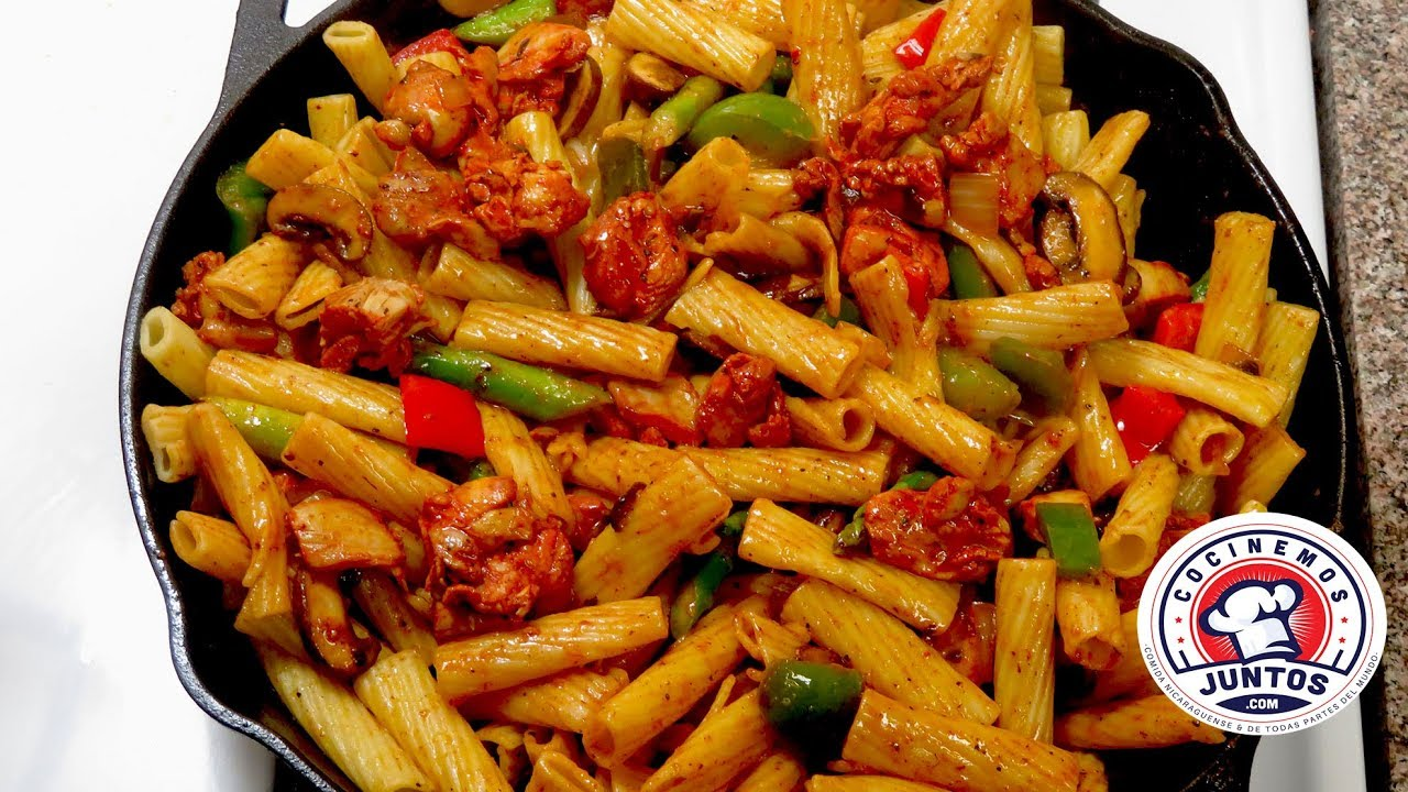 Image Result For Receta Pasta Con Pollo Y Vegetales