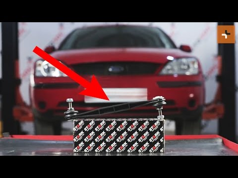 How to replaceFront Anti Roll Bar LinkonFORD MONDEO 3 TUTORIAL | AUTODOC
