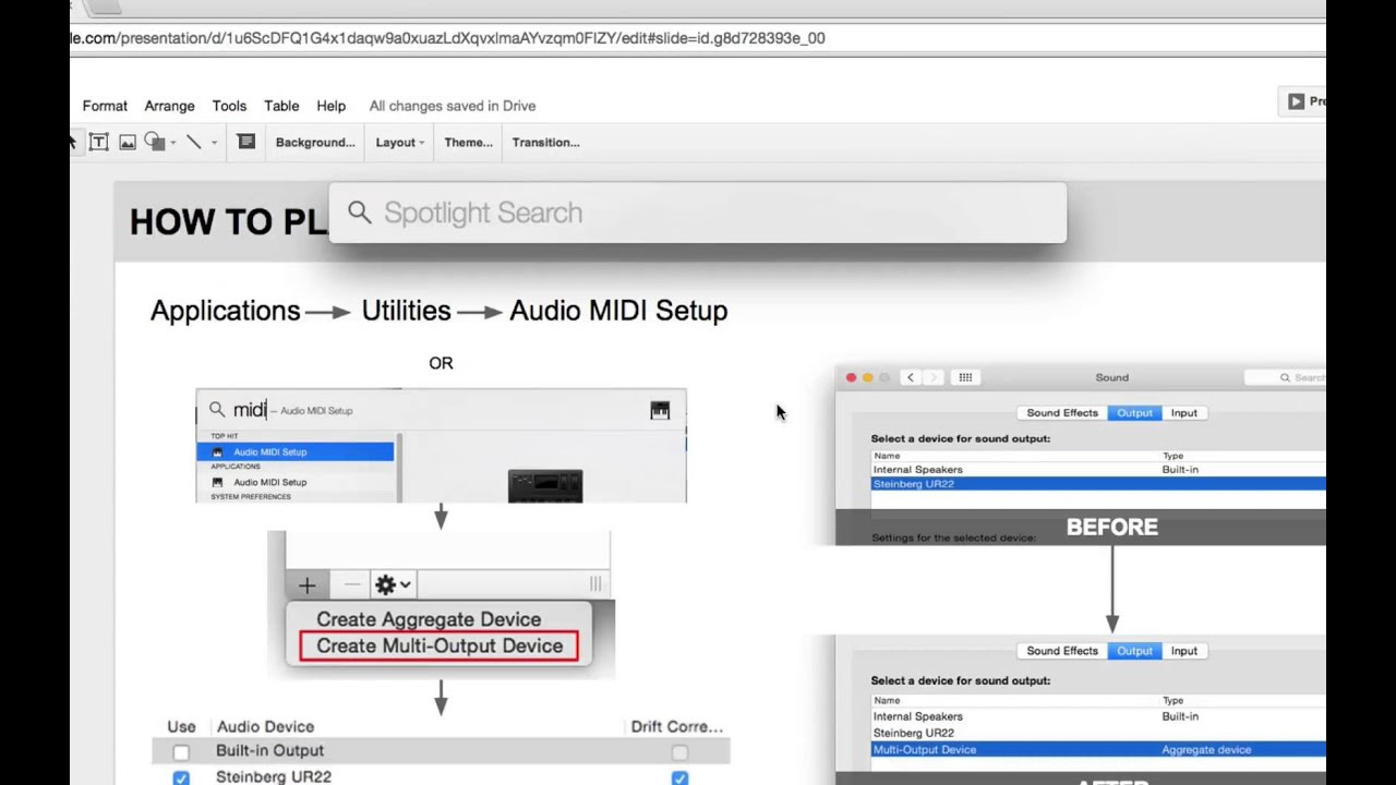 Mac Tips - How to Play Audio from Multiple Outputs (Mac)