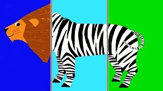 Baby Play Animal Match Up & Learn About Animals | Learning Baby Games