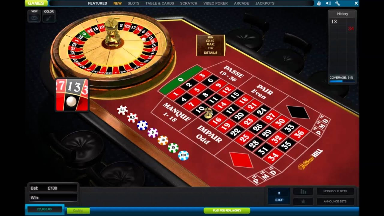 William hill online roulette fixed slots bash free coins
