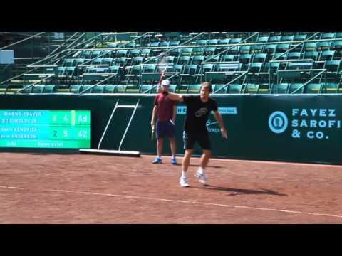 Haas Recalls Houston Memories Love For Tennis