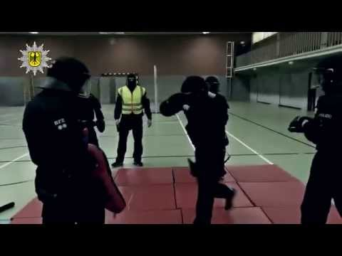 BFE (Beweissicherungs- und Festnahmeeinheit) der Bundespolizei - Training