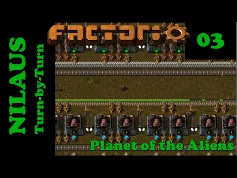 Lets Play Factorio S5E03 - Engines and Electric Engines