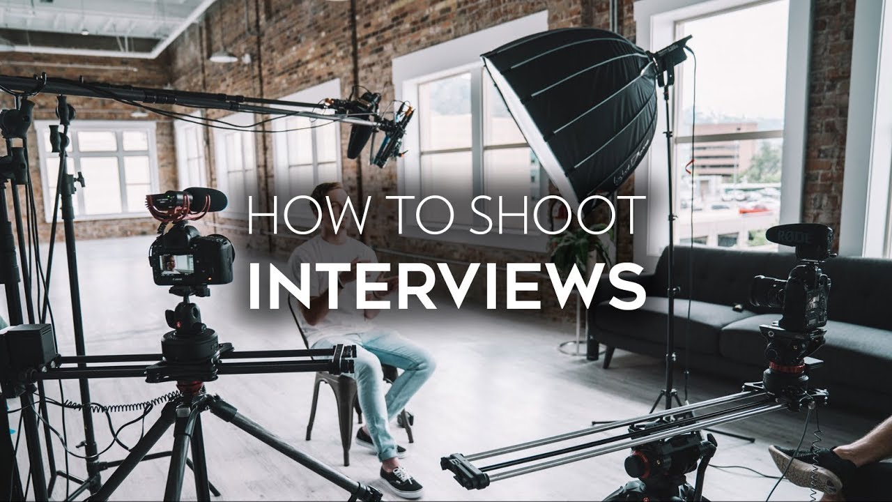 how to shoot an interview job shadow