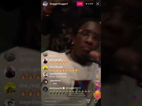 """Young Thug x Gunna """"Picture Perfect"""" IG Live (Full song)"""