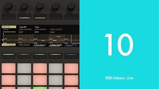 Ableton Live 10: New MIDI Clip Editing on Push