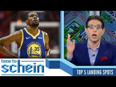 Top 5 Landing Spots for Kevin Durant in Free Agency  CBS Sports