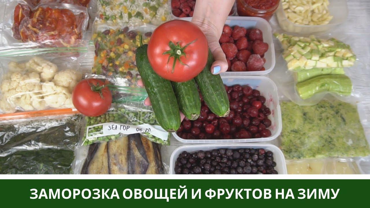 Заморозка Овощей На Зиму🍆 Овощи, Смеси, Фрукты