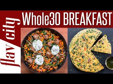 Whole 30 Breakfast Recipes That Rock – Breakfast Meal Prep For Whole30 Diet